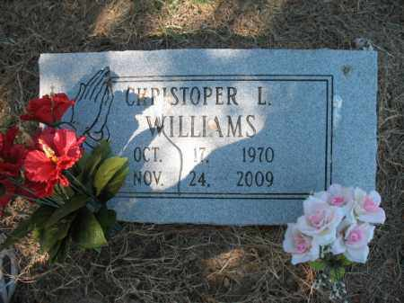 WILLIAMS, CHRISTOPHER L - Cross County, Arkansas | CHRISTOPHER L WILLIAMS - Arkansas Gravestone Photos