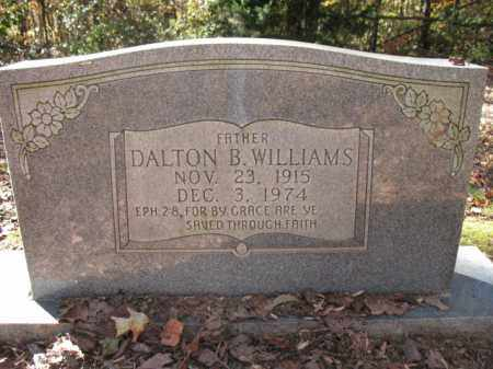WILLIAMS, DALTON B - Cross County, Arkansas | DALTON B WILLIAMS - Arkansas Gravestone Photos
