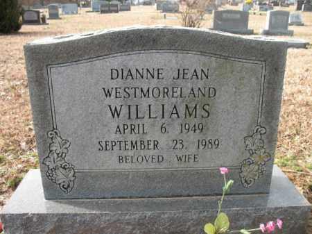 WILLIAMS, DIANNE JEAN - Cross County, Arkansas | DIANNE JEAN WILLIAMS - Arkansas Gravestone Photos