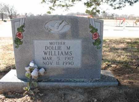 WILLIAMS, DOLLIE M - Cross County, Arkansas   DOLLIE M WILLIAMS - Arkansas Gravestone Photos