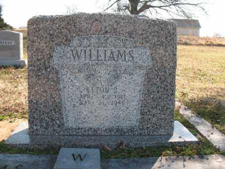 WILLIAMS, ELTON R - Cross County, Arkansas   ELTON R WILLIAMS - Arkansas Gravestone Photos