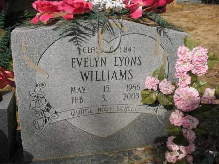 WILLIAMS, EVELYN - Cross County, Arkansas | EVELYN WILLIAMS - Arkansas Gravestone Photos
