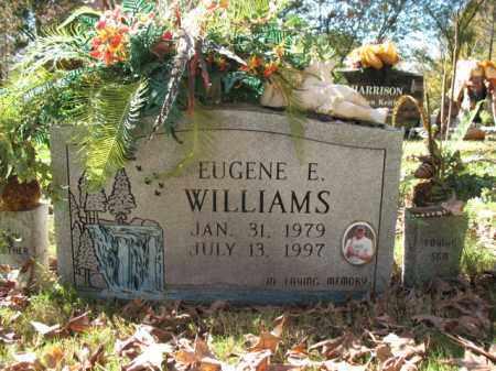 WILLIAMS, EUGENE EDWARD - Cross County, Arkansas   EUGENE EDWARD WILLIAMS - Arkansas Gravestone Photos