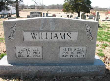 WILLIAMS, FLOYD LEE - Cross County, Arkansas | FLOYD LEE WILLIAMS - Arkansas Gravestone Photos