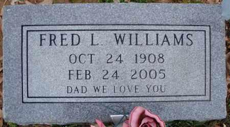WILLIAMS, FRED L. - Cross County, Arkansas | FRED L. WILLIAMS - Arkansas Gravestone Photos