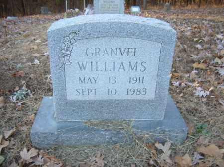 WILLIAMS, GRANVEL - Cross County, Arkansas | GRANVEL WILLIAMS - Arkansas Gravestone Photos