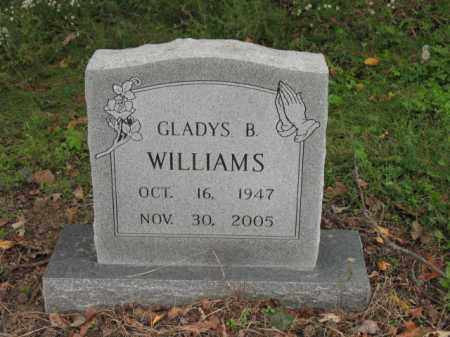 WILLIAMS, GLADYS B - Cross County, Arkansas | GLADYS B WILLIAMS - Arkansas Gravestone Photos