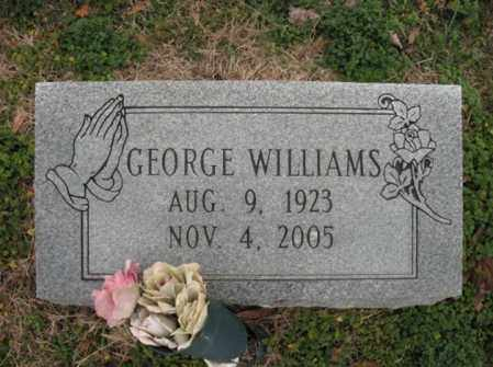 WILLIAMS, GEORGE - Cross County, Arkansas | GEORGE WILLIAMS - Arkansas Gravestone Photos