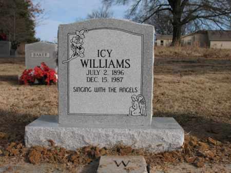 WILLIAMS, ICY - Cross County, Arkansas   ICY WILLIAMS - Arkansas Gravestone Photos