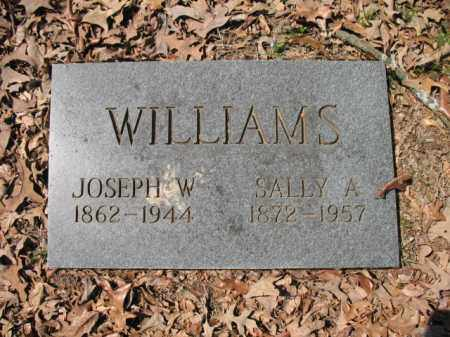 WILLIAMS, JOSEPH W - Cross County, Arkansas | JOSEPH W WILLIAMS - Arkansas Gravestone Photos