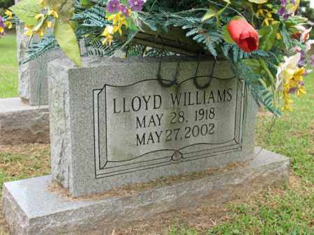 WILLIAMS, LLOYD - Cross County, Arkansas | LLOYD WILLIAMS - Arkansas Gravestone Photos