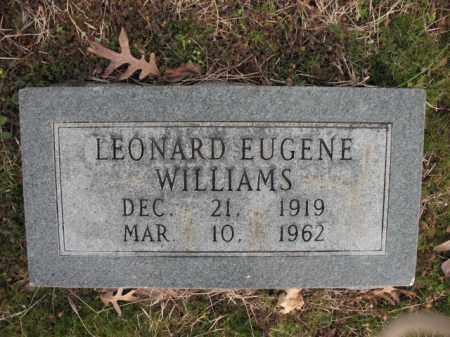 WILLIAMS, LEONARD EUGENE - Cross County, Arkansas   LEONARD EUGENE WILLIAMS - Arkansas Gravestone Photos
