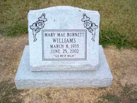 WILLIAMS, MARY MAE - Cross County, Arkansas | MARY MAE WILLIAMS - Arkansas Gravestone Photos