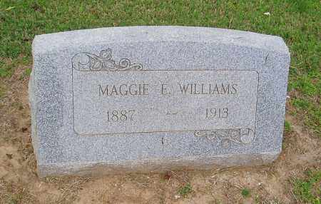 WILLIAMS, MAGGIE E - Cross County, Arkansas | MAGGIE E WILLIAMS - Arkansas Gravestone Photos
