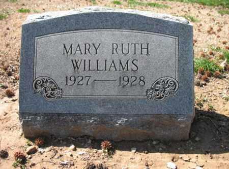 WILLIAMS, MARY RUTH - Cross County, Arkansas | MARY RUTH WILLIAMS - Arkansas Gravestone Photos