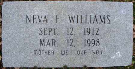 WILLIAMS, NEVA F. - Cross County, Arkansas | NEVA F. WILLIAMS - Arkansas Gravestone Photos