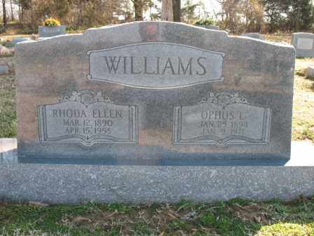 WILLIAMS, OPHUS L - Cross County, Arkansas | OPHUS L WILLIAMS - Arkansas Gravestone Photos