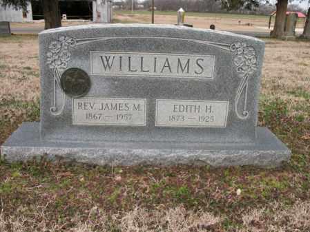 WILLIAMS, JAMES M, REV - Cross County, Arkansas   JAMES M, REV WILLIAMS - Arkansas Gravestone Photos