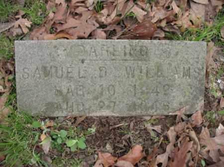 WILLIAMS, SAMUEL D - Cross County, Arkansas | SAMUEL D WILLIAMS - Arkansas Gravestone Photos