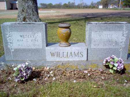 WILLIAMS, MATTIE - Cross County, Arkansas | MATTIE WILLIAMS - Arkansas Gravestone Photos