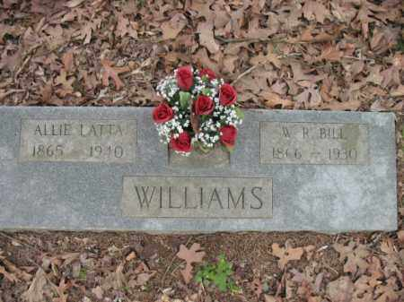 WILLIAMS, ALLIE - Cross County, Arkansas | ALLIE WILLIAMS - Arkansas Gravestone Photos