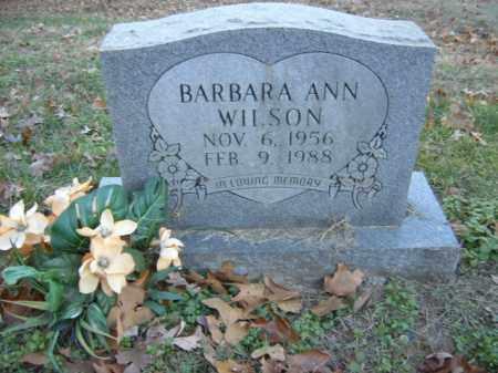 WILSON, BARBARA ANN - Cross County, Arkansas   BARBARA ANN WILSON - Arkansas Gravestone Photos
