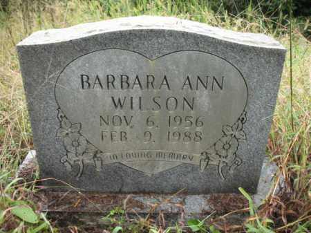 WILSON, BARBARA ANN - Cross County, Arkansas | BARBARA ANN WILSON - Arkansas Gravestone Photos
