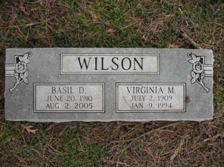 WILSON, BASIL D - Cross County, Arkansas | BASIL D WILSON - Arkansas Gravestone Photos