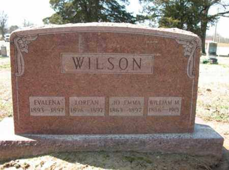 WILSON, EVALENA - Cross County, Arkansas | EVALENA WILSON - Arkansas Gravestone Photos