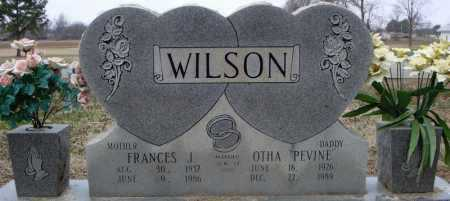 WILSON, FRANCES J. - Cross County, Arkansas | FRANCES J. WILSON - Arkansas Gravestone Photos