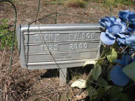 WILSON, FRANK - Cross County, Arkansas   FRANK WILSON - Arkansas Gravestone Photos