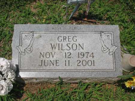 WILSON, GREG - Cross County, Arkansas | GREG WILSON - Arkansas Gravestone Photos