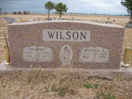 WILSON, HUBERT - Cross County, Arkansas   HUBERT WILSON - Arkansas Gravestone Photos