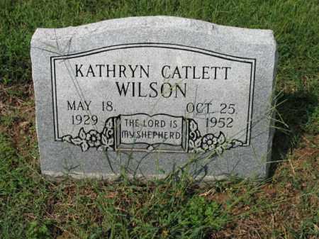 WILSON, KATHRYN - Cross County, Arkansas | KATHRYN WILSON - Arkansas Gravestone Photos