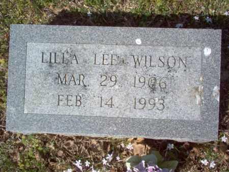 WILSON, LILLA LEE - Cross County, Arkansas | LILLA LEE WILSON - Arkansas Gravestone Photos