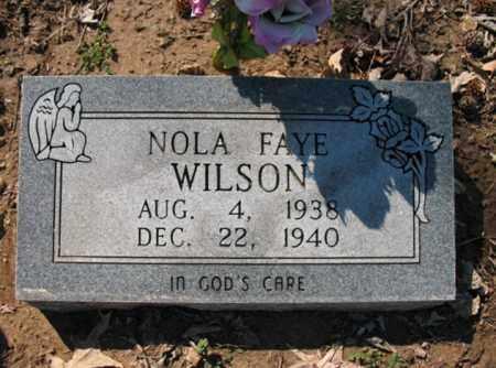 WILSON, NOLA FAYE - Cross County, Arkansas | NOLA FAYE WILSON - Arkansas Gravestone Photos