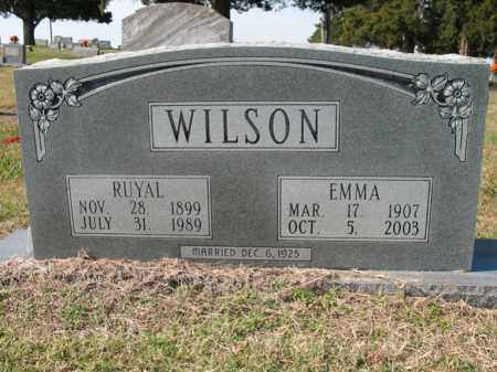 WILSON, EMMA - Cross County, Arkansas | EMMA WILSON - Arkansas Gravestone Photos