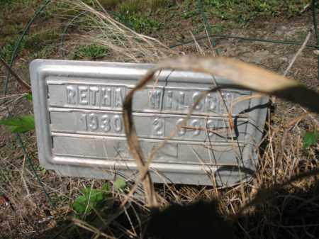 WILSON, RETHA - Cross County, Arkansas | RETHA WILSON - Arkansas Gravestone Photos