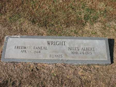 WRIGHT, NILES ALBERT - Cross County, Arkansas | NILES ALBERT WRIGHT - Arkansas Gravestone Photos