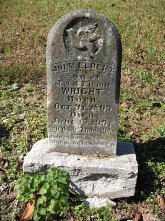 WRIGHT, JOHN ELBERT - Cross County, Arkansas   JOHN ELBERT WRIGHT - Arkansas Gravestone Photos