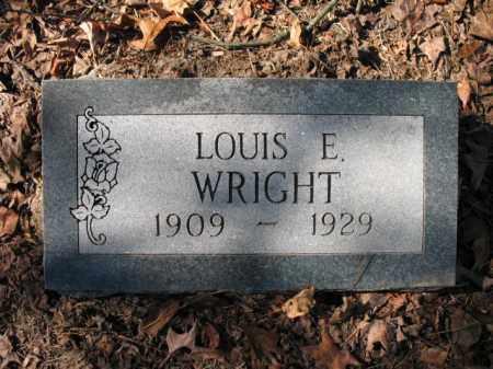WRIGHT, LOUIS E - Cross County, Arkansas   LOUIS E WRIGHT - Arkansas Gravestone Photos
