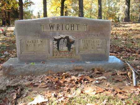 WRIGHT, THERESA ALICE - Cross County, Arkansas | THERESA ALICE WRIGHT - Arkansas Gravestone Photos