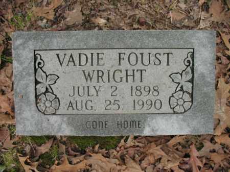 WRIGHT, VADIE - Cross County, Arkansas | VADIE WRIGHT - Arkansas Gravestone Photos