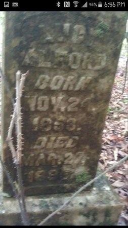 ALFORD, LUCY - Dallas County, Arkansas   LUCY ALFORD - Arkansas Gravestone Photos