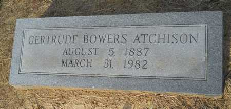 ATCHISON, GERTRUDE - Dallas County, Arkansas | GERTRUDE ATCHISON - Arkansas Gravestone Photos