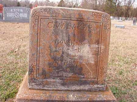 BAKER, C W - Dallas County, Arkansas | C W BAKER - Arkansas Gravestone Photos
