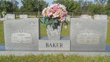 BAKER, EMERY - Dallas County, Arkansas | EMERY BAKER - Arkansas Gravestone Photos