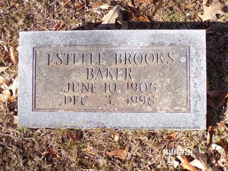 BROOKS BAKER, ESTELLE - Dallas County, Arkansas | ESTELLE BROOKS BAKER - Arkansas Gravestone Photos