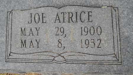 BAKER, JOE ATRICE (CLOSEUP) - Dallas County, Arkansas   JOE ATRICE (CLOSEUP) BAKER - Arkansas Gravestone Photos