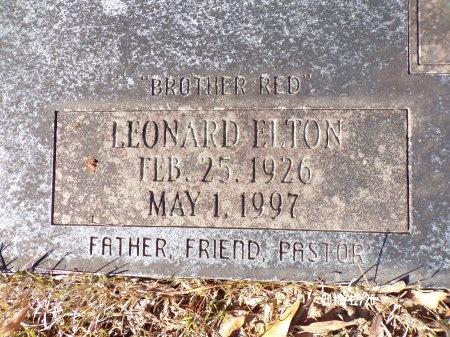 BAKER, LEONARD ELTON (CLOSE UP) - Dallas County, Arkansas   LEONARD ELTON (CLOSE UP) BAKER - Arkansas Gravestone Photos